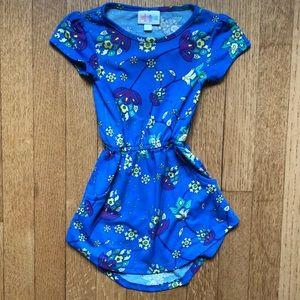 💙 Lularoe dress toddler elastic waist size 2 💙